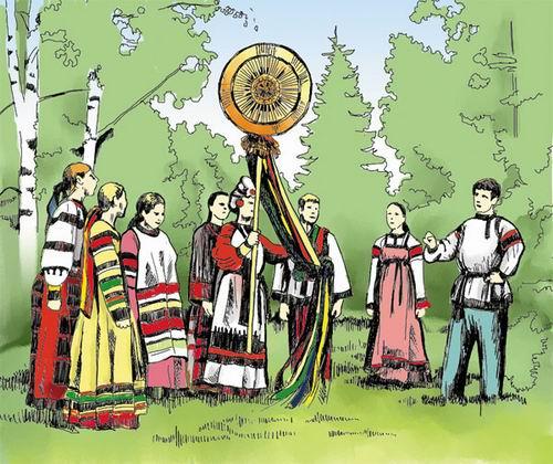 Поклонение славян Солнцу