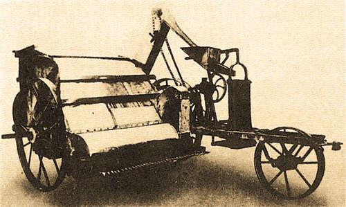 Один из первых комбайнов Мак-Кея, 1884 г.